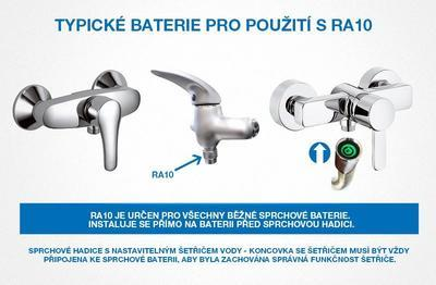 Perlátor do sprchy Watersavers RA10 - 2